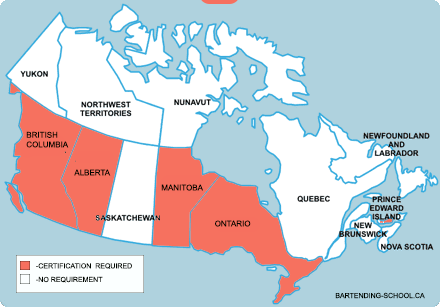 bartending-certification-map-canada