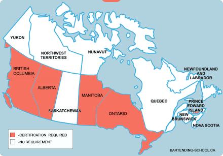 bartending-certification-map-canada